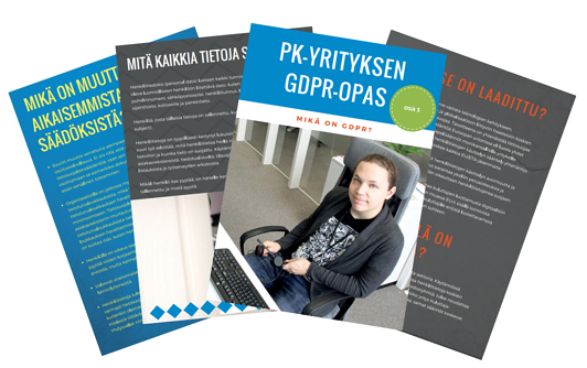 PK-yrityksen GDPR-opas osa 1