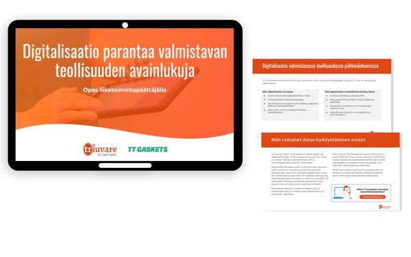 Lataa maksuton e-kirja digitalisaatiosta teollisuudessa