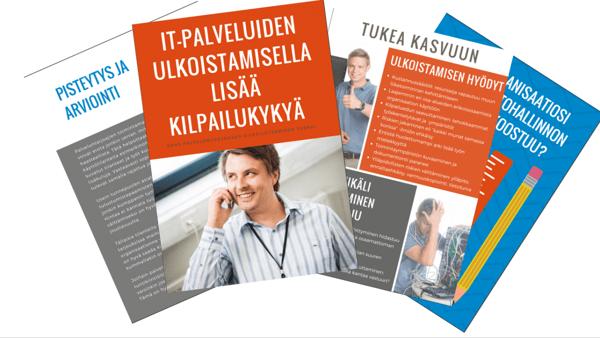 IT-palveluiden ulkoistamisella lisää kilpailukykyä – opas palveluntarjoajien kilpailutuksen tueksi