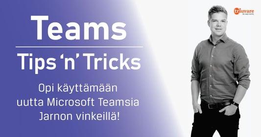 Microsoft Teamsin alkeet